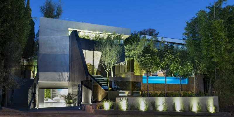 Meir Kroll and Blair Chang Celebrate 8971 Shoreham Drive With Elegant Sunset Soiree