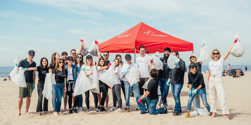 The Agency Celebrates Earth Day with Santa Monica Beach Cleanup