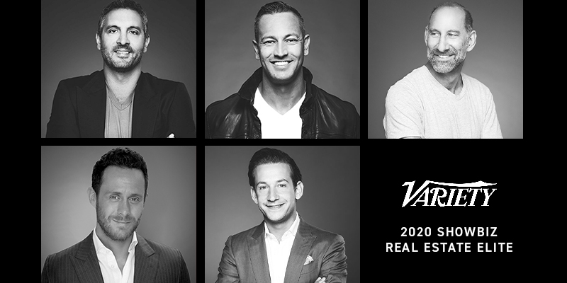 The Agency's Own Named Among Variety's 2020 Showbiz Real Estate Elite