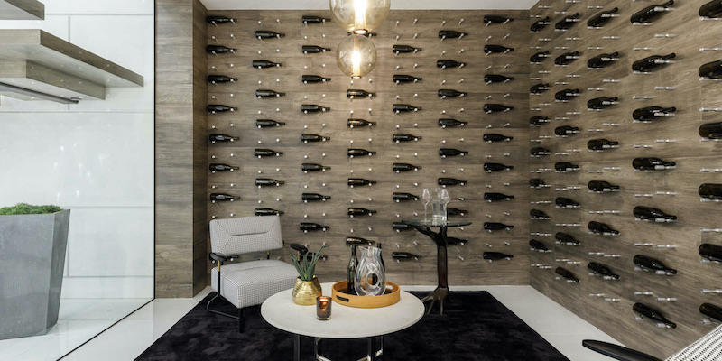 Sip & Savor: Five Homes with Fantastic Wine Rooms