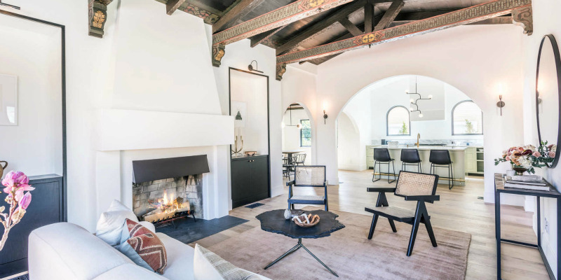 L.A. Stunner Blends Old-World Charm and Contemporary Style