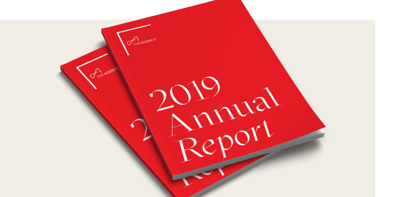 The Agency Unwraps The 2019 Annual Report
