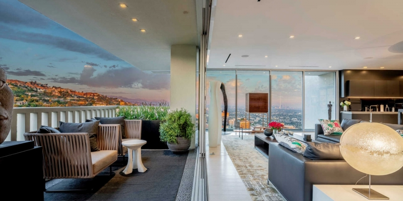 The High-Rise Home of Hollywood's Elite