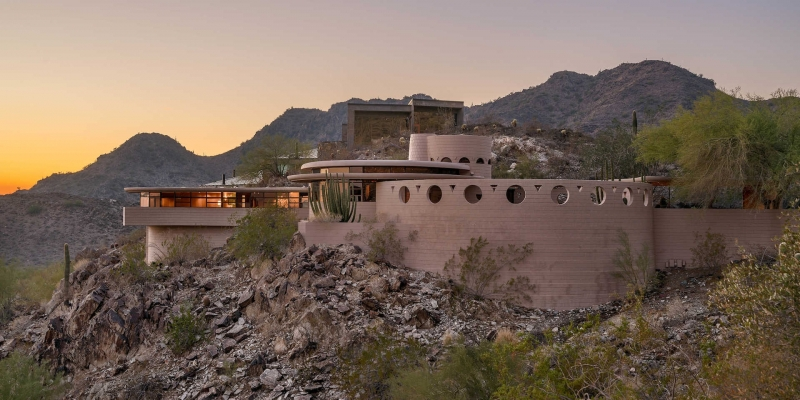 The Agency in Arizona Sells Last Home Designed by Frank Lloyd Wright