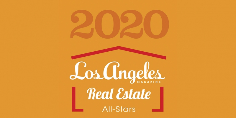 L.A. Mag Names The Agency's Own Among 2020 Real Estate All-Stars