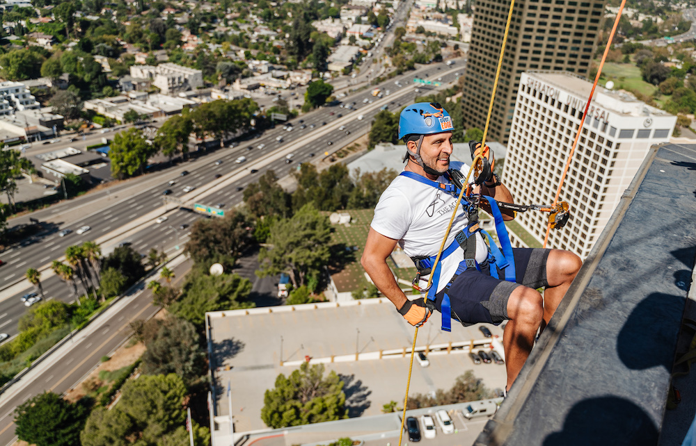 Action Stars: The Agency Goes Over The Edge To Fight Homelessness